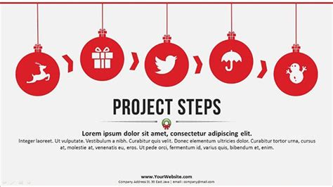 ppt templates for events 58 christmas powerpoint templates free ai illustrator