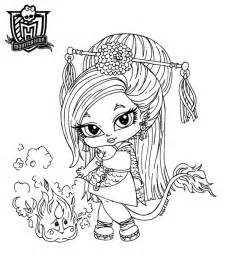 monster dolls baby monster character free printable coloring pages
