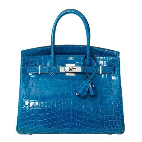 Best Seller Hermes Birkin 1 herm 232 s birkin 30 blue izmir crocodile niloticus phw for