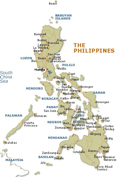 printable map philippines philippines maps free printable maps