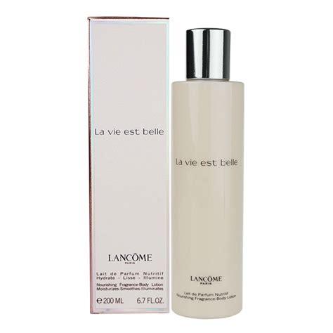 Lancome La Vie Est 200ml lanc 244 me la vie est lait corps pour femme 200 ml