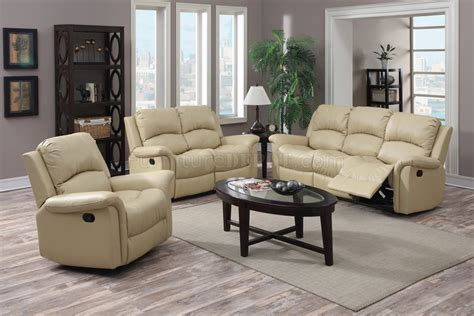 Beige Leather Sofa And Loveseat by G795 Motion Sofa Loveseat In Beige Bonded Leather By
