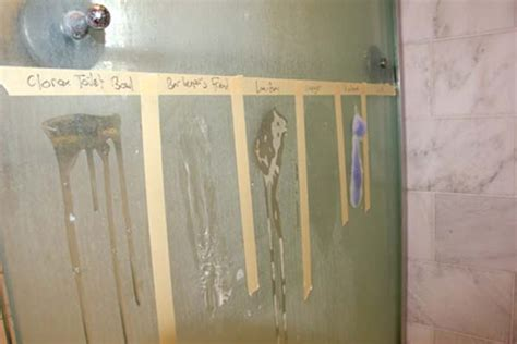 Best Way To Clean Water Stains Glass Shower Doors by Bathroom How To Clean Water Stains Water