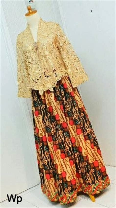 kebaya modern brokat lace kebaya skirts