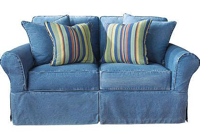 blue jean denim sofa genius obviously jeans leopard and sparkles