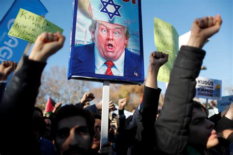 donald trump israel indonesia in pictures muslim world erupts over trump s decision to