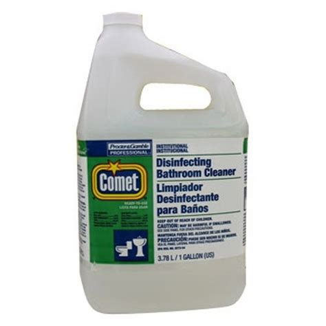 comet non abrasive bathroom cleaner proctor gamble comet 174 bathroom disinfectant cleaner 1