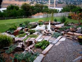 Arizona Backyard Landscaping Como Hacer Un Jard 237 N Con Piedras Rocas Y Plantas