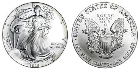 1 troy ounce american silver eagle coin value 1995 p american silver eagle bullion coins one troy ounce