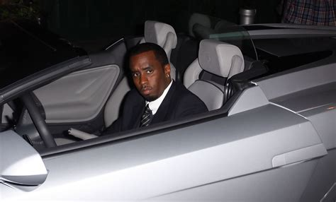 P Diddy Lamborghini Truck Combs Photos P Diddy With His Lamborghini 3140 Of