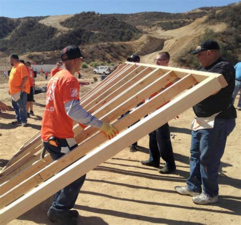scvnews the home depot helps build veteran housing