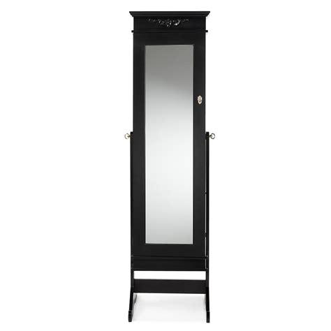 black wood armoire baxton studio bimini black wood jewelry armoire 28862 6558