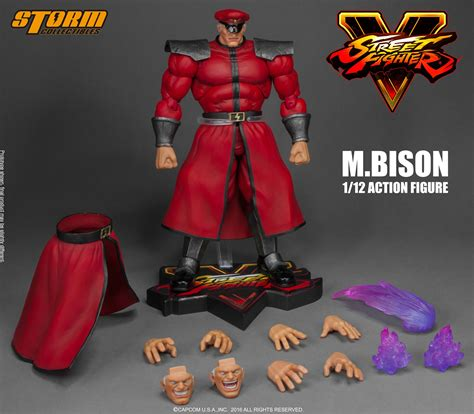 m bison figure collectibles 1 12 fighter v m bison scale