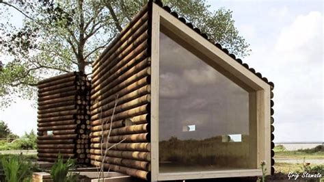 Tiny House Concept by Open Concept Modern Tiny House With Elevator Bed