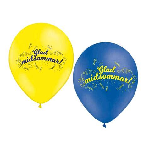 ballonger glad midsommar partykungen se