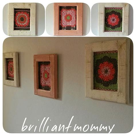 pattern wall display innovative ways to display your favorite crochet projects