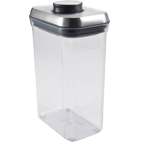 food canister oxo stainless steel food container in kitchen canisters