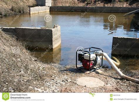 pumping water basement royalty free stock photos image