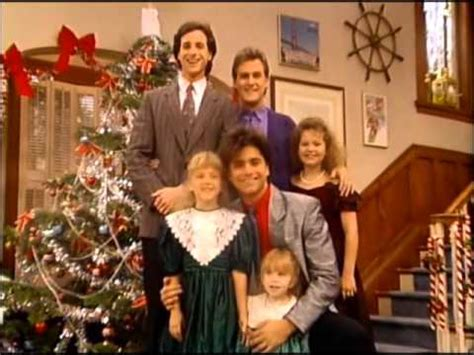 full house christmas full house taking a picture for the christmas card youtube