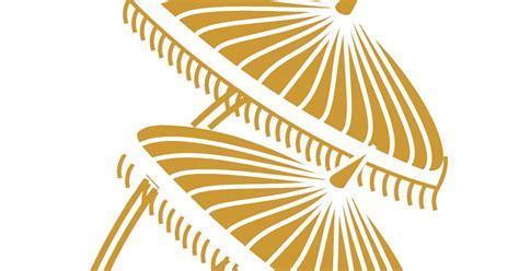desain gapura vector adigraph payung tepak sirih