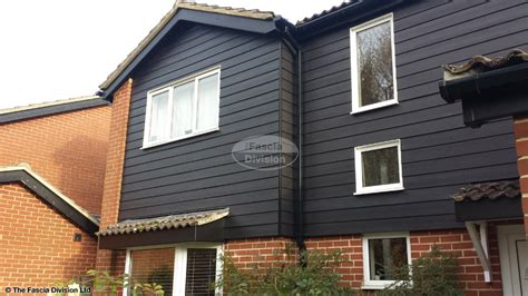 Fixing Shiplap Timber Cladding The Fascia Division Guttering Fascias And Soffits