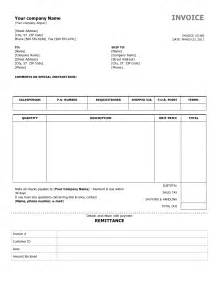 Simple Free Invoice Template Simple Invoice Template Free To Do List