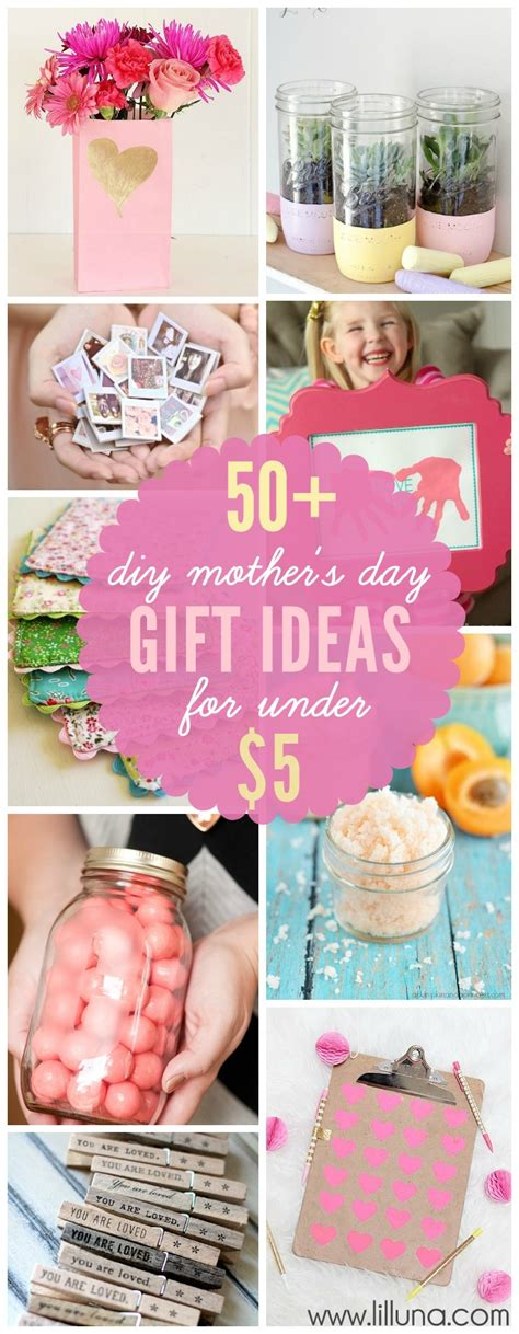 mother gifts diy mother s day gifts for under 5
