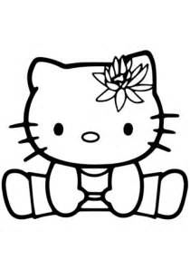 Hello Kitty Gymnastics Coloring Pages | hello kitty gymnastics coloring page free printable