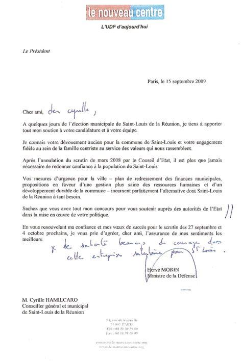 lettre de soutien politique herv 233 morin envoie une lettre de soutien 224 cyrille hamilcaro