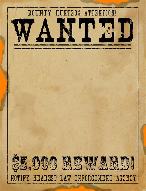 printable posters download free wanted poster template download online calendar