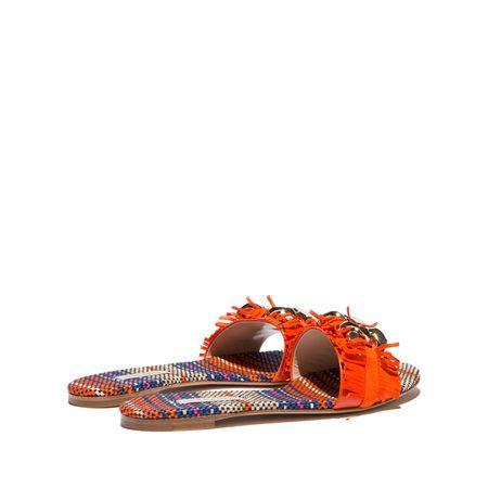 Flat Shoes Fanta casadei fringed daytime sandals fanta modesens