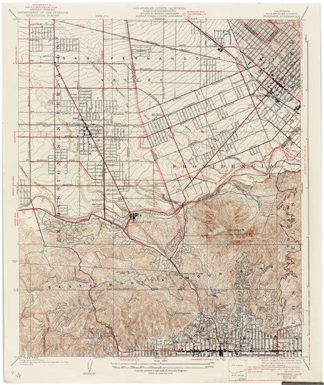 map of burbank ca california topographic maps perry casta 241 eda map