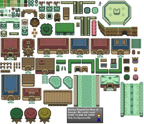 legend of zelda tilemap snes the legend of zelda a link to the past bg kit 3