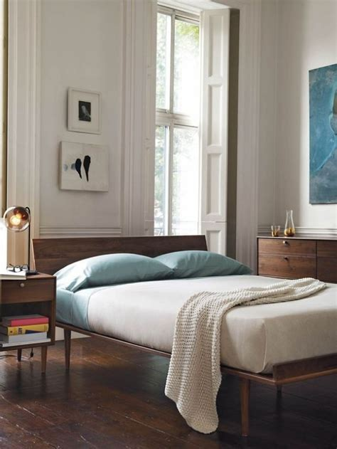 30 chic and trendy mid century modern bedroom designs digsdigs