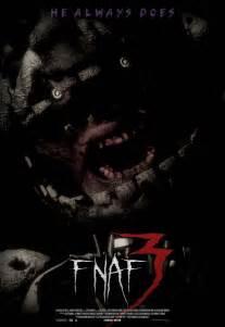 Fnaf 3 movie poster hd by bluewolfavenger on deviantart