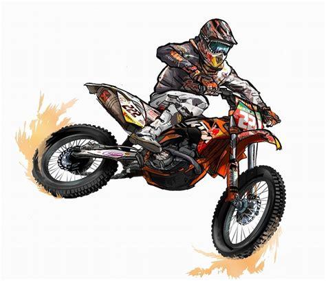 Motocross Motorrad Comic by Enduro Poster ค นหาด วย สายฝ น สายล ย สายว บาก