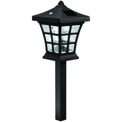 solar lights home depot westinghouse venture solar path light set 6 326203 08p the home depot