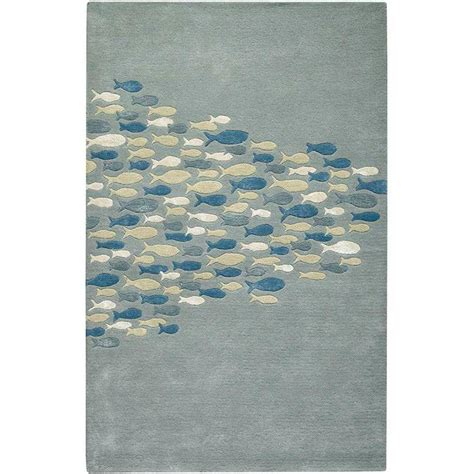 School Area Rugs Home Decorators Collection School Pastel Blue 8 Ft X 11 Ft Area Rug 0790730330 The Home Depot