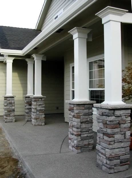Columns For Patio by Porch Columns Traditional Porch Other By