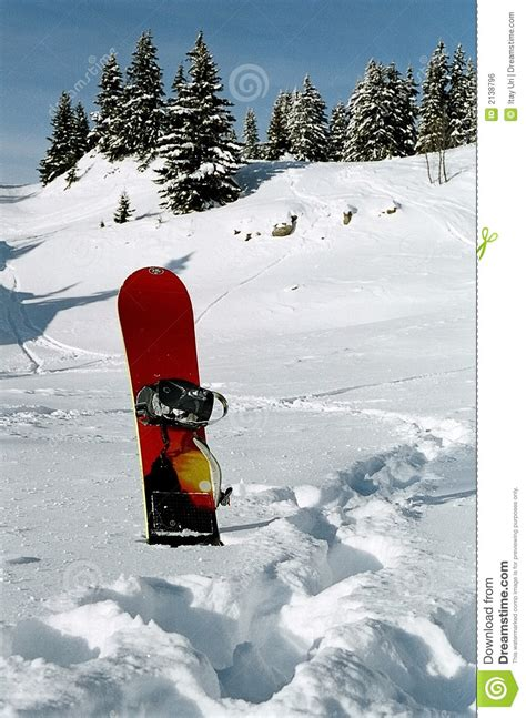 school in snow royalty free stock image image snowboard stuck in the snow royalty free stock image