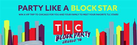 Disney Channel Com Summer Sweepstakes - tlc com blockparty tlc block party contest 2016 sweepstakes lovers