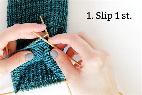 heel flap knitting knit along day 2 heel flap