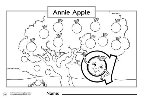 annie apple coloring page annie apple letterland coloring pages annie best free