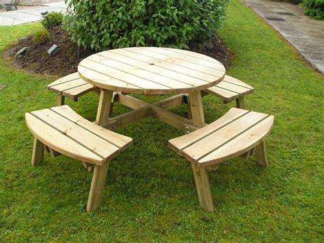 garden picnic bench john palmer joinery garden furniture