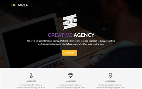 wordpress theme center layout 23 creative wordpress themes for web design agencies