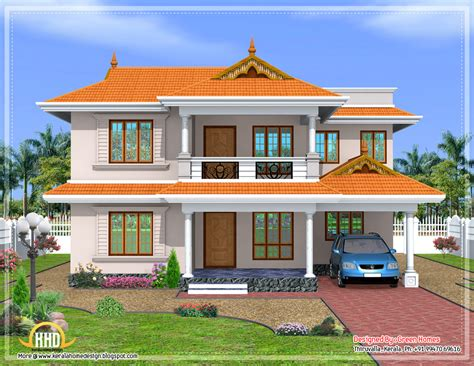 slope roof low cost home design kerala and floor plans a nice kerala style sloped roof house 2350 sq ft