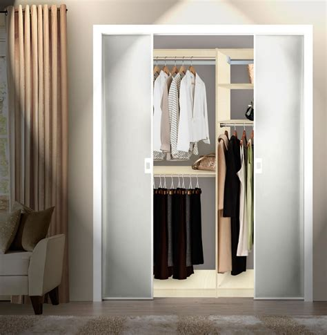 Isa Custom Closets Double Hanging Plus   Contempo Space