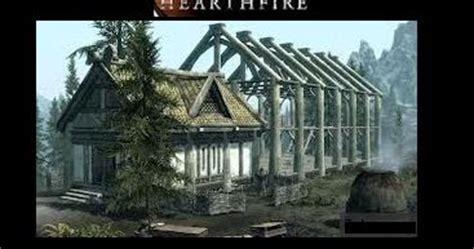 Skyrim Hearthfire How To Build A House Drafting Table Skyrim