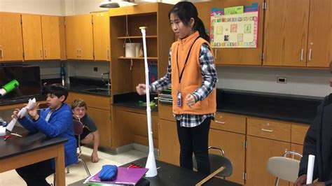 How To Make A Free Standing Paper Tower - paper tower challenge success