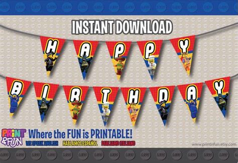 printable lego birthday banner 8 best images of free printable banner lego movie lego
